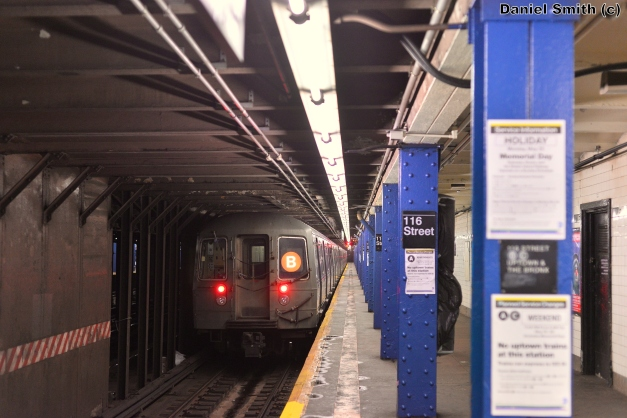 R68 B Train At 116th Street