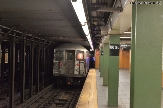 R62A 1 Train Leaves 66th Street