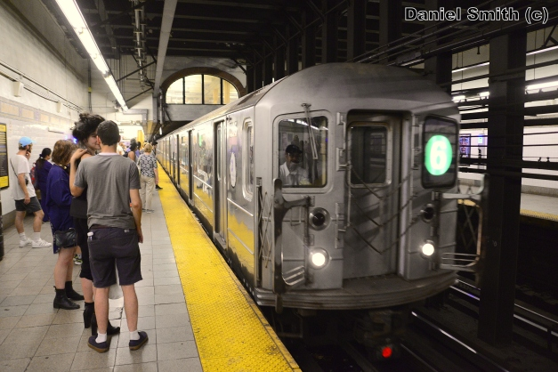 R62A 6 Train At 96th Street